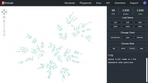 Putting data first: state-driven app design for graph visualization