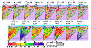 Using Neural Networks to Predict Cimate Change, Droughts, and Conflict Displacements