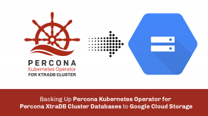 Backing Up Percona Kubernetes Operator for Percona XtraDB Cluster Databases to Google Cloud Storage