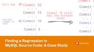 Finding a Regression in MySQL Source Code: A Case Study