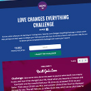 Love Changes Everything Microsite
