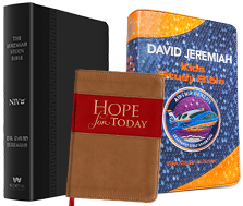 The Jeremiah Study Bible, Airship Genesis Bible and Hope for Today, learn more
