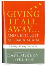 Giving It All Away hardback book