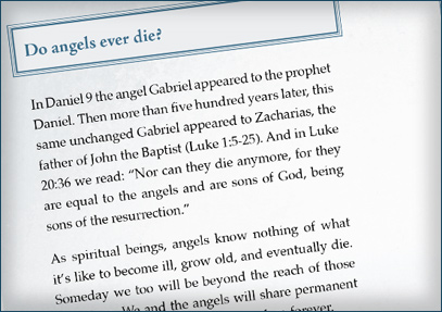 Do angels ever die? - From Page 60