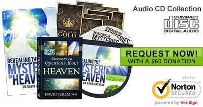 Request the Revealing the Mysteries of Heaven CD audio collection with a $60 Donation