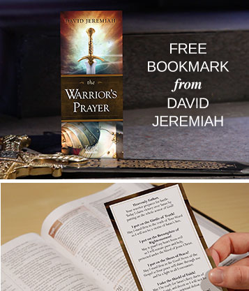 Free Bookmark from David Jeremiah