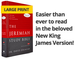 The Jeremiah Study Bible, easier than ever to read in the beloved New King James Version!