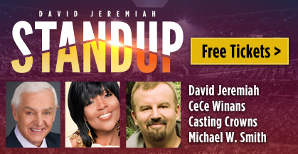 David Jeremiah's Stand Up Tour, Free Tickets