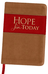 Hope for Today Leather Devotional 2017