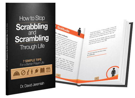 How to Stop Scrabbling and Scrambling Through Life