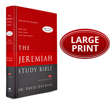 The Jeremiah Study Bible Large Print