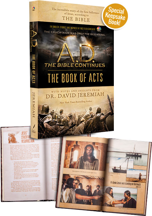 Special Keepsake Book! A.D. The Book of Acts
