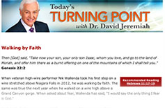 Start your day with David Jeremiah's email devotional
