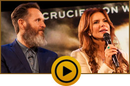 Roma Downey and Mark Burnett talk to David Jeremiah about A.D. The Bible Continues