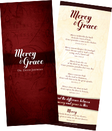 Mercy and Grace - Free Bible Bookmark