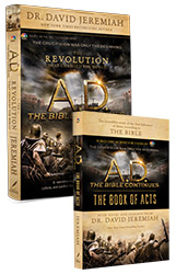 A.D. The Revolution That Changed the World PLUS A.D. The Book of Acts