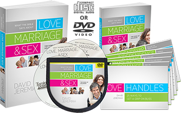 What the Bible Says About Love, Marriage, and Sex CD and DVD set