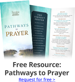 Free Resource: Pathways to Prayer