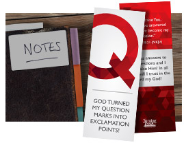 10 Questions Bookmark