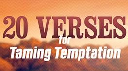 20 Verses for Taming Temptation