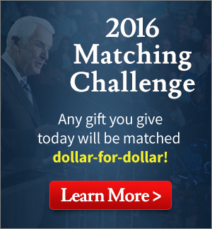 2016 Matching Challenge Any gift you give today will be matched dollar-for-dollar! Learn More