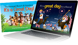 Kids Calendar Website