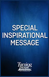 Special Inspiration Message