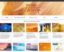 Interactive Heaven Microsite