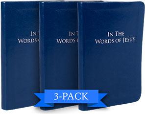3-Pack: In The Words of Jesus
