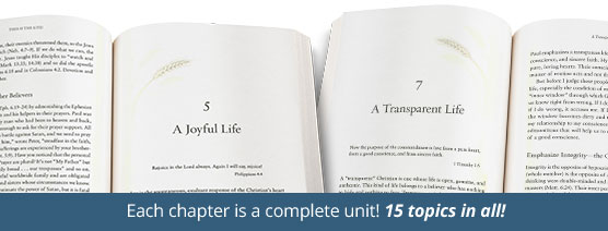Each chapter is a complete unit! 15 topics in all!
