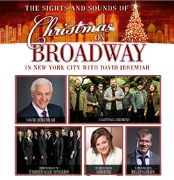 The Sights and Sounds of Christmas on Broadway in New York City with David Jeremiah