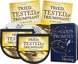 Tried, Tested and Triumphant CD Set and God's Promises for When You Are Hurting