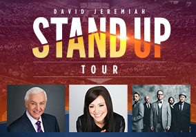 David Jeremiah Stand Up Tour