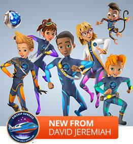 Airship Genesis: Legendary Bible Adventure, New kids series from Dr. David Jeremiah
