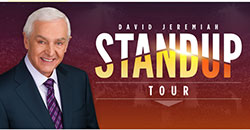 Stand Up Tour with David Jeremiah