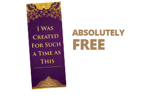 For Such a Time As This... Free Bookmark