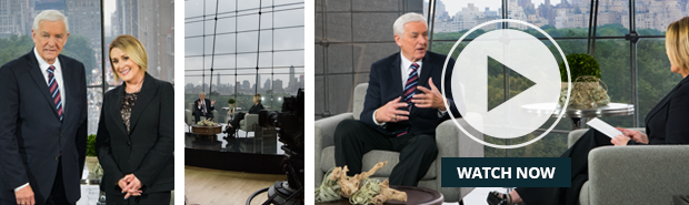 Is This the End? Interview with Dr. David Jeremiah & host Sheila Walsh.
