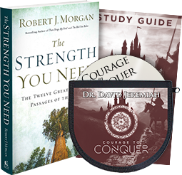 Courage to Conquer CD DVD set and The Strength You Need book