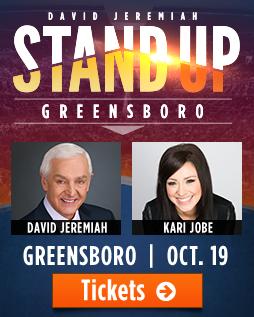 Stand Up! Tour - Greensboro - Dr. David Jeremiah
