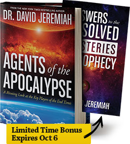 Limited Time Bonus: Agents of the Apocalypse PLUS Answers to the Unsolved Mysteries of Prophecy