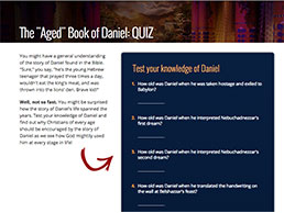 Quiz: The 'Aged' Book of Daniel