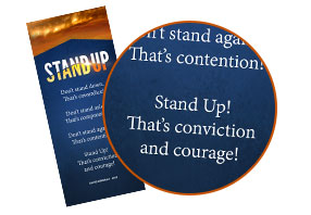 Stand Up Bookmark