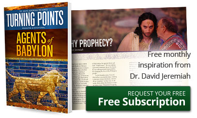 Free monthly inspiration from Dr. David Jeremiah