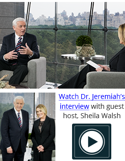 Interview with Sheila Walsh and Dr. David Jeremiah