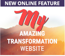 New Online Feature - Amazing Transformation Website