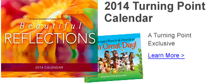 2014 Turning Point Calendar - Learn More