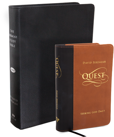 Quest Devotional and Jeremiah Study Bible
