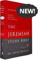 The Jeremiah Study Bible Large Print Edition