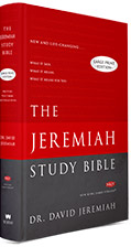The Jeremiah Study Bible Large Print