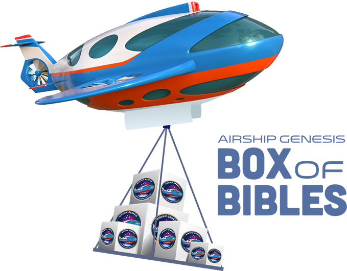 Airship Genesis Box of Bibles